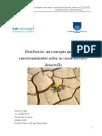 Fraga (Libro) Resiliencia Un Concepto Que Abre Cuestionamientos Sobre Construcción y Desarrollo.