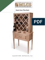 Plans Wine Rack