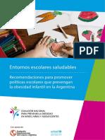 Unicef Argentina Entornos Saludables