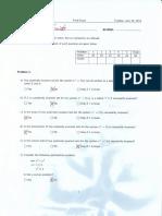 MpcFinal 2013 Solution
