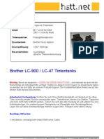 Refill FAA Brother LC900