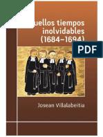 Aquellos Tiempos Inolvidables 1684 Josean Villalabeitia