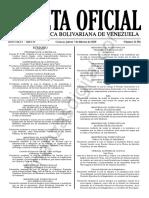 GacetaOficial41581-Sumario