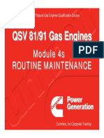 Module 4s - Routine Maintenance