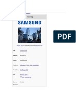 Samsung d Sad