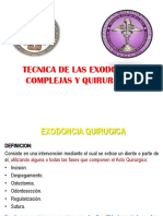 Clase 04 Exodoncia Con Odontoseccion