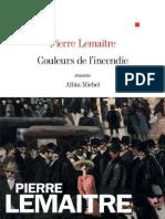 Pierre Lemaitre - Couleurs de l'incendie.epub