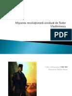 Mișcarea Revoluționară Condusă de Tudor Vladimirescu