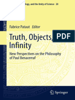 [Logic, Epistemology, And the Unity of Science 28] Fabrice Pataut (Eds.) - Truth, Objects, Infinity_ New Perspectives on the Philosophy of Paul Benacerraf (2016, Springer International Publishing) (1)