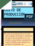 COSTO DE PRODUCCIÓN 2.pps