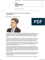 ConJur - Entrevista_ Henrique Moraes Prata, Especialista Em Direito e Bioética