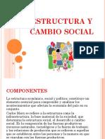 Estructura y Cambio Social
