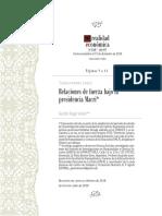 Relaciones de fuerza bajo la Presidencia Macri