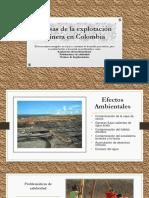 Causas de La Explotación Minera en Colombia