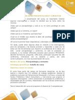 Presentación Curso Psicopatología y Contextos