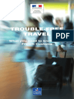Trouble Free Travel With French Customs