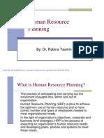 Human Resource Planning Lec8