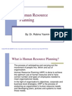 Human Resource Planning Lec8
