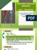 Pengantar Anatomi Fisiologi Manusia 1.ppt