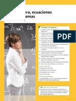 Álgebra, Ecuaciones y Sistemas-EDITEX