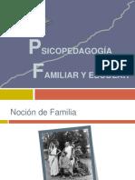 Psicopedagogía Familiar y Escolar