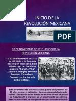 Inicio de la revolución mexicana.pptx