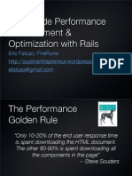 Client-Side Measurement & Performance With Rails