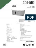 Sony CDJ-500