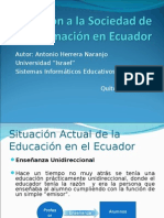 Sociedad de la Información Ecuador