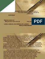 4. Lakatos Diana, Dimitrie Cantemir