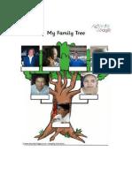 Arbol Genealogico en Inglés
