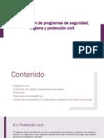 Elaboración de Programas de Seguridad e Higiene y Protección Civil