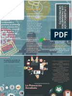 1.5 Triptico Planificación de Los Parámetros de Un Proyecto