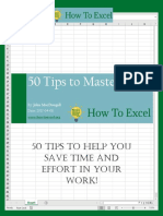 HowToExcel eBook - 50 Tips to Master Excel 2017-06-11
