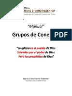 GDC - Manual Grupos de Conexión - Cristo Eterno Redentor