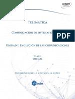 KCSD U1 Evolucion de Las Comunicaciones