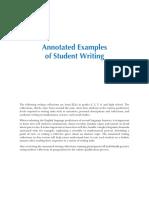 TELPAS Student Writing Samples Student 1