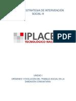 Teoría y Estrategia de Intervención Social III