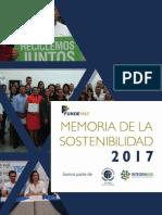 Memoria de Sostenibilidad 2018