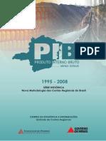 Produto Interno Bruto de Minas Gerais-Série Histórica 1995-2008