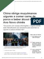 China Obriga Muçulmanos Uigures a Comer Carne de Porco e Beber Álcool Durante Ano Novo Chinês _ Bebidas Alcoólicas _ Ano-Novo Chinês _ Annie Wu _ Epoch Times Em Português