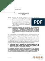 CIRCULAR VIACI No. 400.004 - 2019 Opciones de Grado