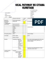 Clinical Pathway Kuretase