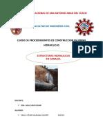 Info.estruc. Hidraulicas en Canales.