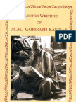 Selected Writings of Mahamahopadhyaya Gopinath Kaviraj