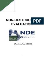 NDE Non Destructive Evaluation Uploaded