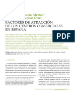 Art - Manuera y Cuestas - Factores de Atracción de Los Centros Comerciales