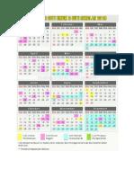 kalendar 2019