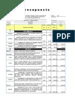 Presupuesto Priv. Melchor