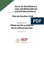 II sem. Observación y análisis de la cultura escolar IMPRIMIR.docx